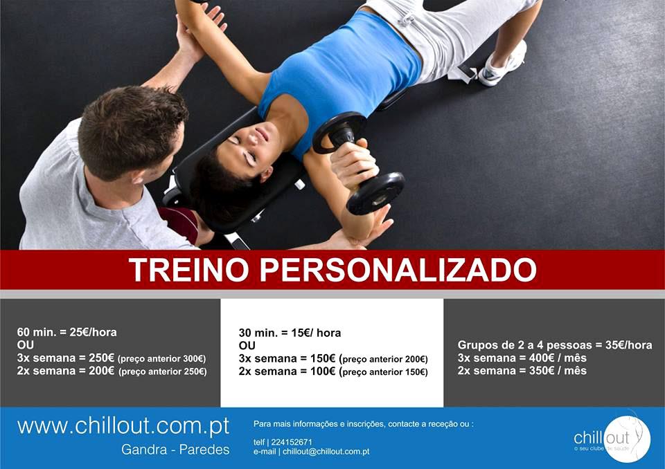 Personal Training | ChillOut, o seu clube de saúde