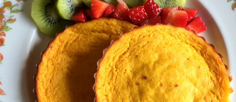 Panquecas de laranja (no forno) | Receitas Saudáveis | Chill Out, O seu clube de saúde